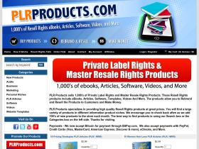 PLR Products Discount